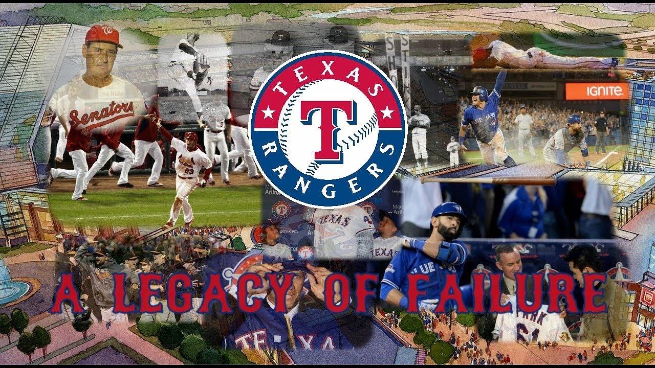 e84f8c5462b The Texas Rangers  A Legacy of Failure - YouTube