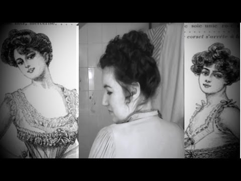 Simple Victorian / Edwardian Updo