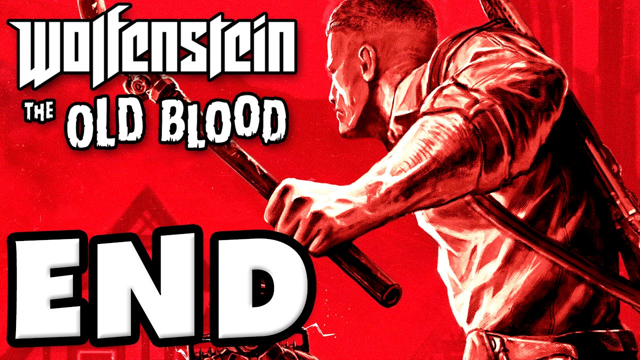 Wolfenstein: The Old Blood - Gameplay Walkthrough Part 9 - Chapter 8: Dig  Site! Ending! (PC)