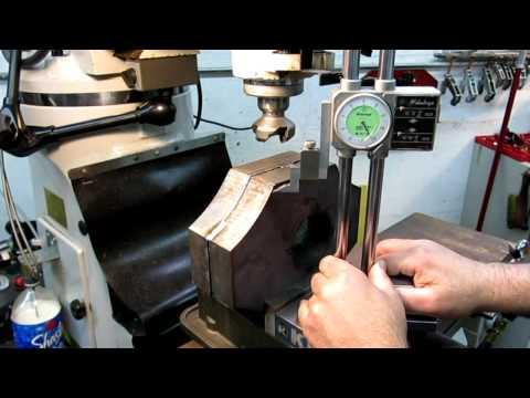 Etching Press bearing housings part 1
