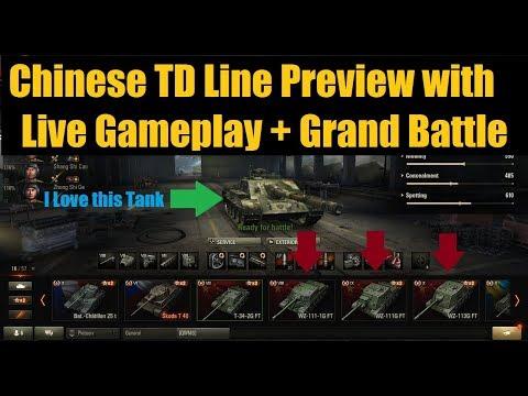 WZ 111-1G FT, WZ 111G FT, WZ 113G FT Preview - Live Gameplay [World of Tanks]
