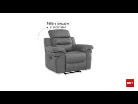 Fauteuil Relax Manuel Tiara But Youtube