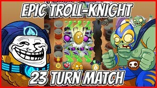 Epic 23 Turns Match with Bowling Bulb - Wall-Knight Bowling All Trick Cards