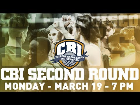 San Francisco Dons in the Quarter Final of the CBI vs Utah Valley