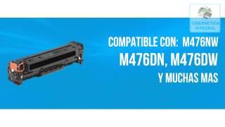 Cartucho de toner HP 312A CF380A original color negro para laserjet M476DN