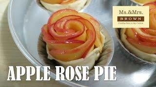 Rose Apple Pie พายแอปเปิ้ลดอกกุหลาบ