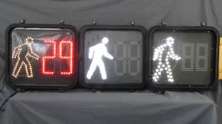 Countdown Pedestrian Traffic Signals Cycling