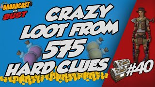 Youtuber Luck... Again! Loot from 575 HARD CLUES! [Runescape 3] #40