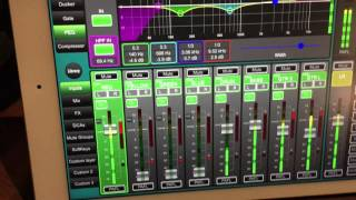 allen heath qu pac rackmount digital mixer and recording to usb qudrive multitrack in live