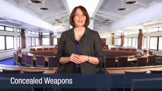 Criminal Law -- State Felony & Misdemeanor