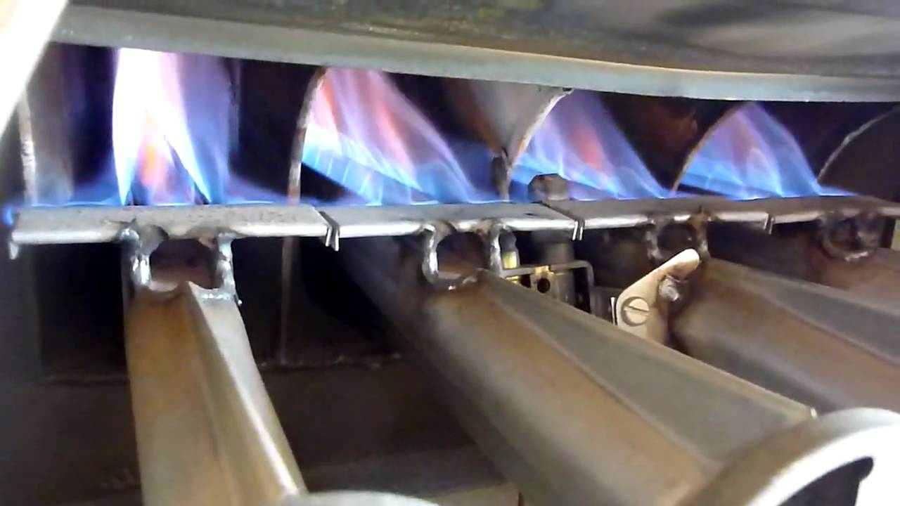 Possible problems with gas furnace heat exchanger - YouTube