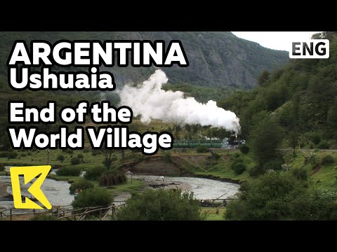 【K】Argentina Travel-Buenos Aires[아르헨티나 여행-우수아이아]세상 끝 마을 증기기관차/Train of the End of the World
