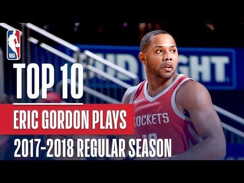 Eric Gordon's Top 10 Plays of the 2017-2018 NBA Regular Season
