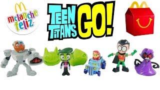 Jovens Titãs em Ação - Teen Titans Go! Coleção Completa McLanche Feliz Ago/17 [Review] em portugues