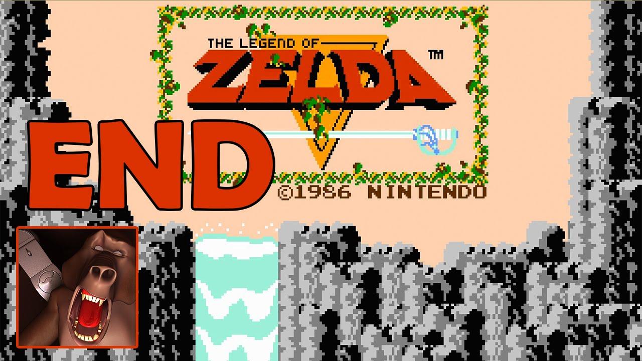 The Legend of Zelda(Nes) Ending - Level 9 - Red Ring, Silver Arrows GANON -  100% Walkthrough (Wii U)