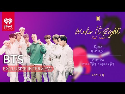"BTS Reveals How ""Make It Right"" Reboot with Lauv Came Together 