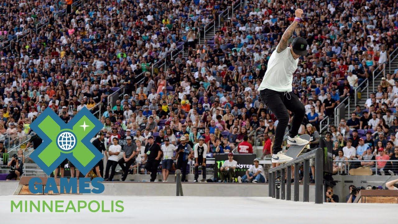 Nyjah Huston Wins Men's Skateboard Street Bronze