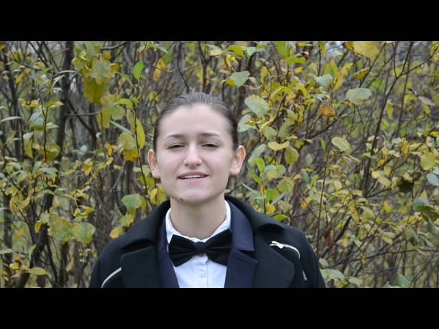 Анна Жигало читает произведение «Одиночество» (Бунин Иван Алексеевич)