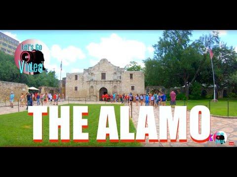 THE ALAMO | SAN ANTONIO | TEXAS USA IN 4K