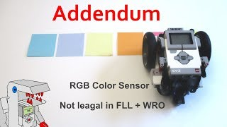 [Addendum] RGB Color Sensor is NOT LEGAL in FLL or WRO