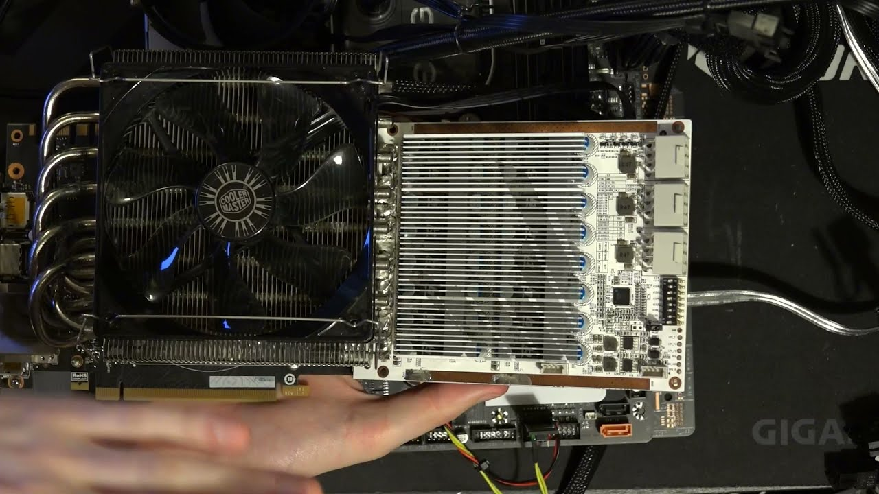 Download GPU Necromancy: EVGA GTX 1080 FTW Vcore VRM replacemed with Galax HOF-power