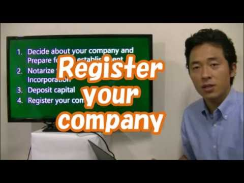 #004 Register  your  company  in Japan- Start Business in Tokyo