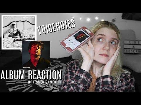 "Charlie Puth: ""Voicenotes"" ALBUM REACTION | Olivia Rena"
