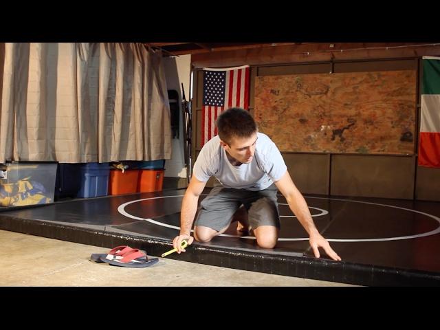How To Build Your Own Mma Jiu Jitsu And Wrestling Mat Youtube