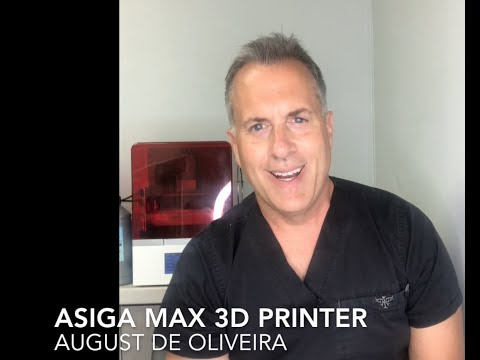 Asiga Max 3D Printer Overview