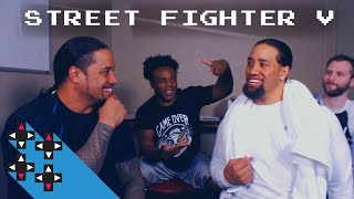 Jimmy Uso vs. Jey Uso (Street Fighter V Shock Punishment) — Gamer Gauntlet