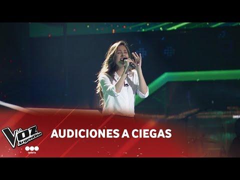 """Magdalena Soria - """"Equivocada"""" - Thalía - Audiciones a ciegas - La Voz Argentina 2018"""