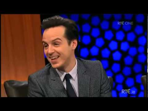 Andrew Scott - Interview at the Late Late Show