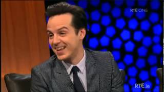 Andrew Scott - Interview at the Late Late Show 17-01-2014