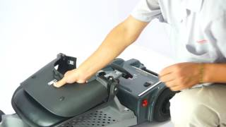 Easyfold Deluxe Mobility Scooter - Folding/unfolding procedure