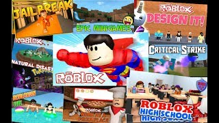 10 Fun Games On Roblox| Mega Roblox Gamer