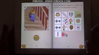 Appli iPad enfant Curry l'écureuil - autisme et dyslexie
