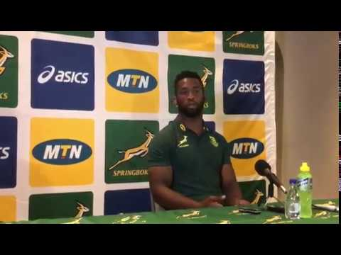 Siya Kolisi: My father is chuffed, but not too excited about media attention