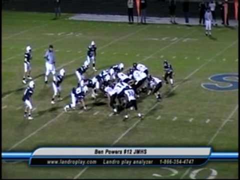 Ben Powers 12 High School Football Highlights