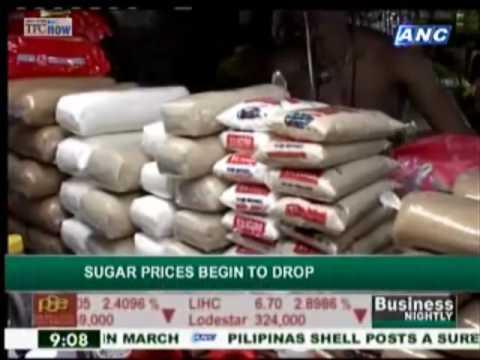 Sugar prices soften