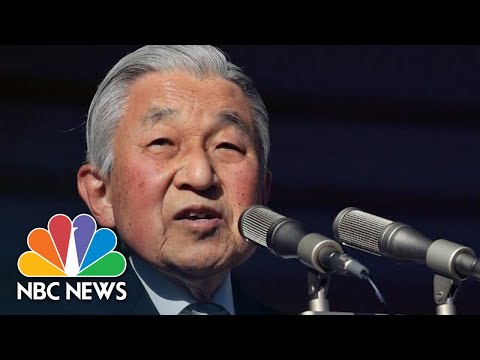 Japan's Emperor Akihito Prays For World Peace In Final New Year's Speech | NBC News