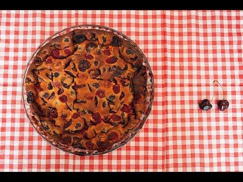 Clafoutis Cerises Et Framboises La Cuisine De Monica YouTube - La cuisine de monica