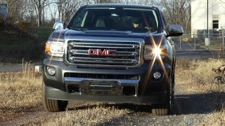 2015 GMC Canyon SLT 4x4 Test Drive Video Review - Mid-Size Pickup Truck