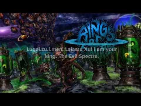 Lalassu Xul - Rings of Saturn (Lyrics on screen)