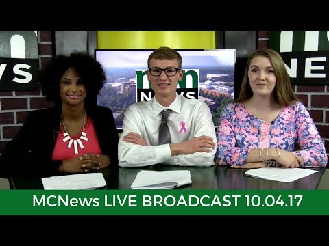MCNews Live Broadcast -- 04 October 2017