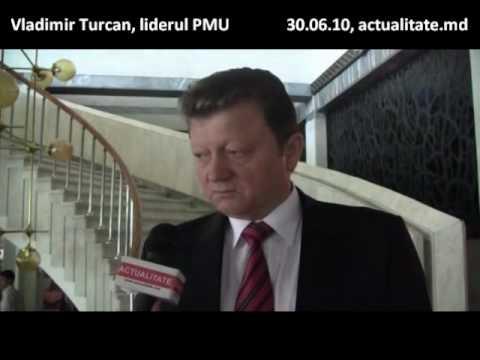 Vladimir Turcan, lider PMU