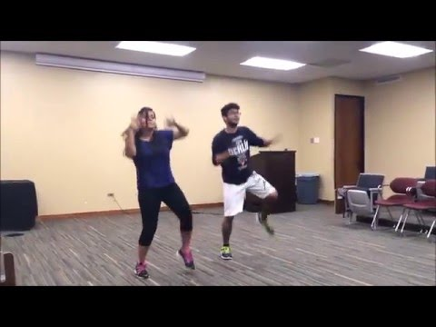 Thug Le Bollywood dance at Texas A&M by Annwesha Sengupta & Darpan Chorghe