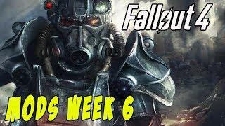 FALLOUT 4 MODS - WEEK #6: CBBE Body Slider, Weapon Racks, Katana, New Maps & More!