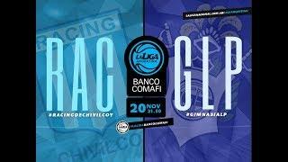 #LaLigaArgentinaBancoComafi | 20.11.2018 Racing de Chivilcoy vs. Gimnasia y Esgrima de La Plata