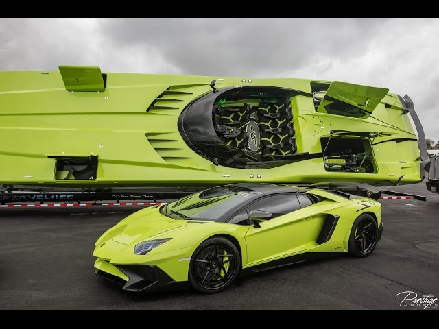 Lamborghini Aventador Sv Sdboat Roadster Are The Perfect Pair Oracle Time
