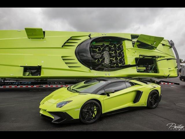 A Lamborghini Aventador Sv Roadster And Get Matching